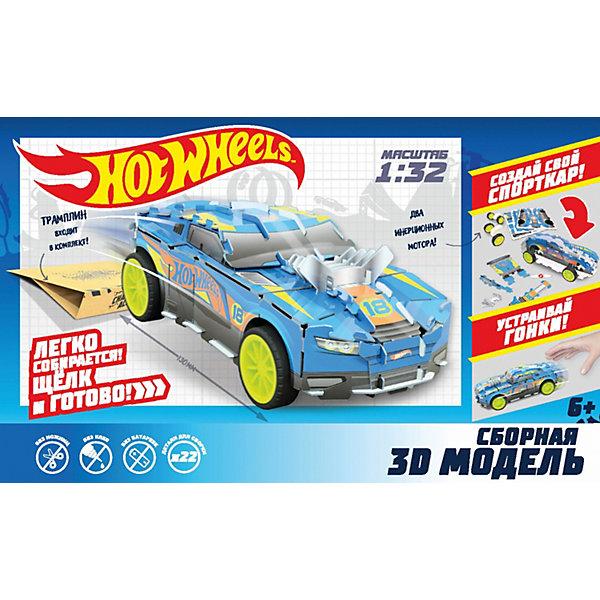 Сборная модель 1Toy Hot Wheels D-Muscle, 22 детали