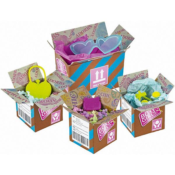 Купить Игровой набор 1Toy Boxy Girls 4 посылки с сюрпризами для кукол, Китай, Женский