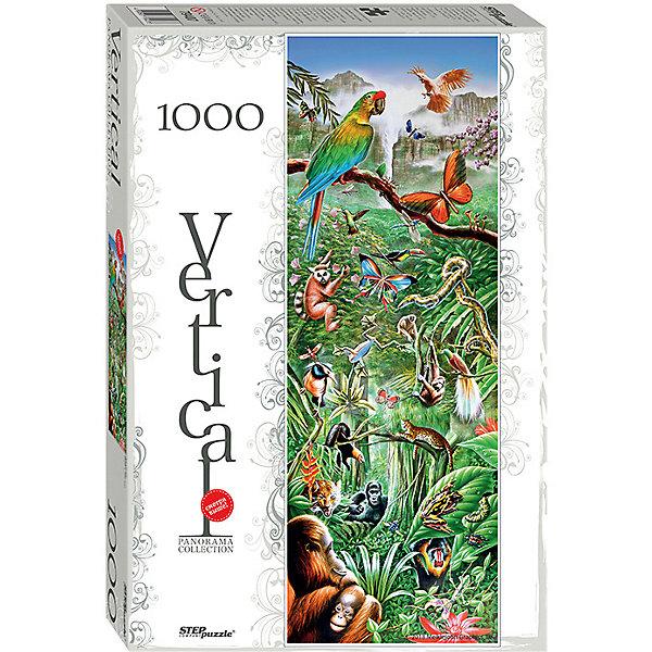 Степ Пазл Мозаика puzzle 1000 Джунгли (Панорама) пазл step puzzle степ пазл 1000 эл world of tanks 79604