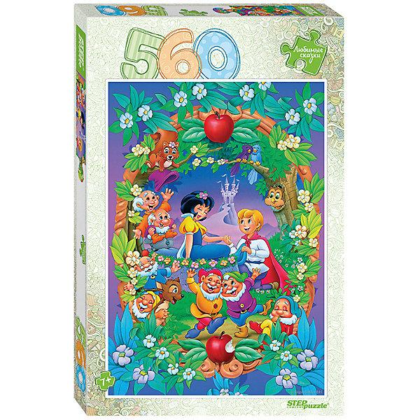 Степ Пазл Мозаика puzzle 560 Белоснежка (Любимые сказки)