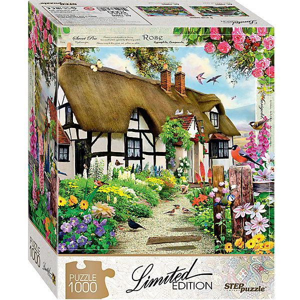 Степ Пазл Мозаика puzzle 1000 Английский коттедж (Limited Edition)