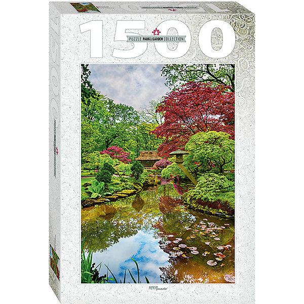 Степ Пазл Мозаика puzzle 1500 Нидерланды. Гаага. Японский сад