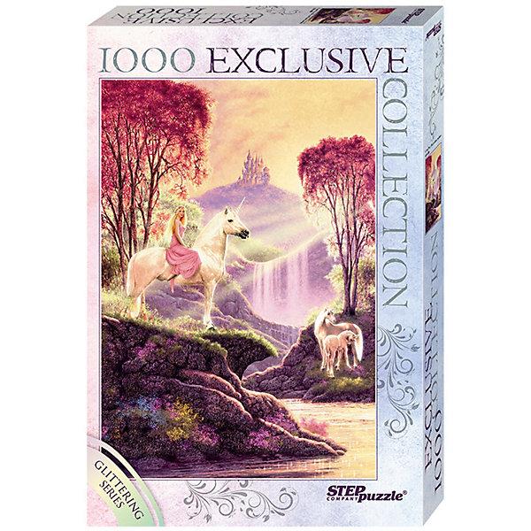 Степ Пазл Мозаика puzzle 1000 Стив Рид. Волшебная долина (Глиттер-коллекция)