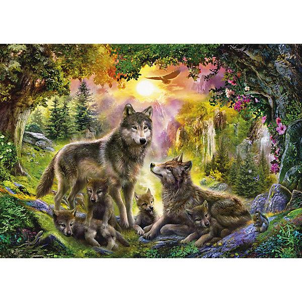 Степ Пазл Мозаика puzzle 1500 Волки
