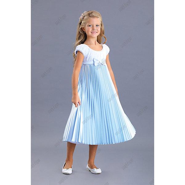 Нарядное платье Маленькая леди, Голубой, Нарядное платье Маленькая леди