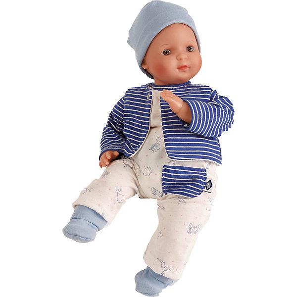 Schildkröt Кукла мягконабивная Schildkroet Кареглазый мальчик, 30 см