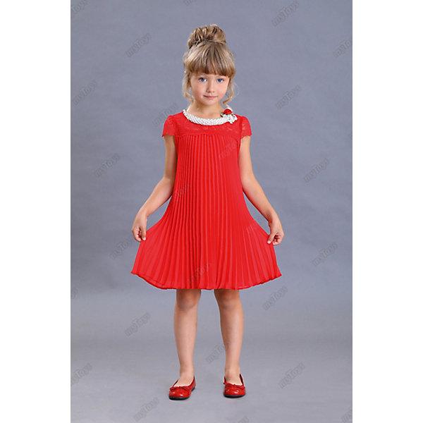 Нарядное платье Маленькая леди, Красный, Нарядное платье Маленькая леди
