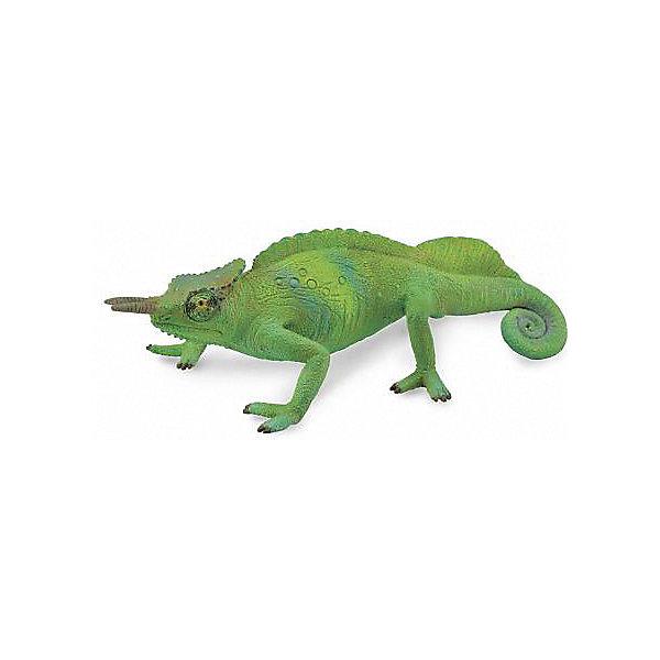 Collecta Коллекционная фигурка Камерунский гребенчатый хамелеон
