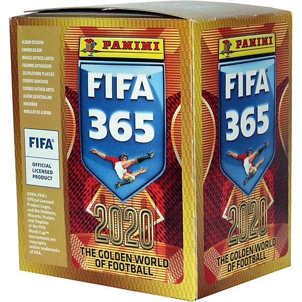 Panini Бокс с наклейками Panini FIFA 365 - 2020, 50 пакетиков