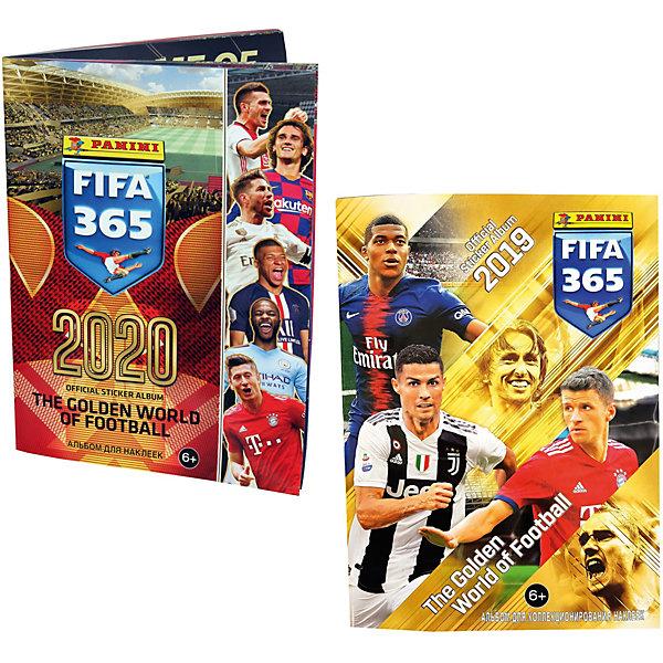 Купить Альбом Panini FIFA 365-2020 и Альбом Panini FIFA 365-2019, Россия, Мужской