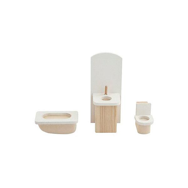 PAREMO Набор мебели для мини-кукол Paremo Ванная комната