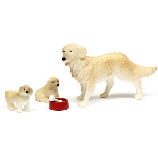 Фото - Lundby Набор фигурок животных Lundby Пес семьи со щенками аксессуары для домика lundby пес семьи со щенками