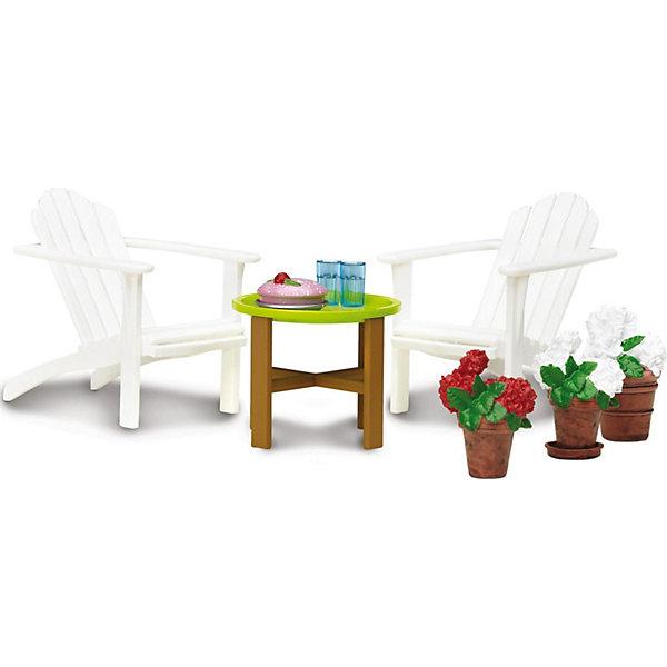 Фото - Lundby Мебель для домика Lundby Смоланд Садовый комплект аксессуары для домика lundby смоланд батут с машинкой