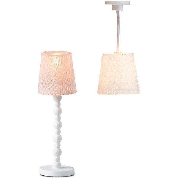 Lundby Освещение для домика Lundby Торшер и люстра с абажурами