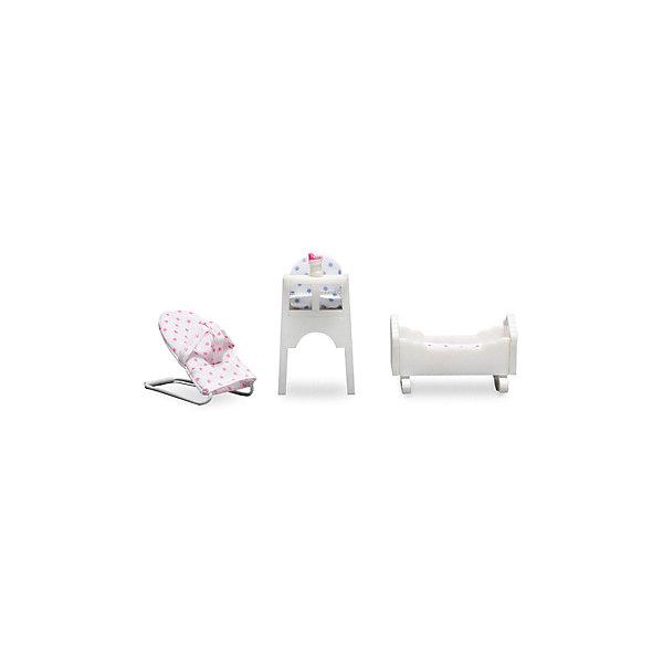 Фото - Lundby Набор мебели для домика Lundby Детская для малыша аксессуары для домика lundby смоланд батут с машинкой