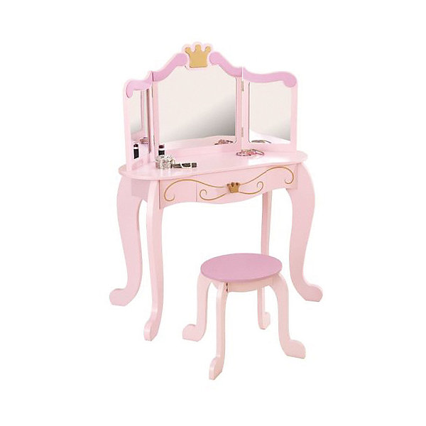 KidKraft Туалетный столик с зеркалом KidKraft