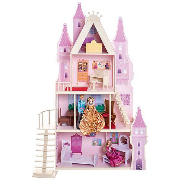 PAREMO Кукольный дворец Paremo Розовый сапфир, 16 предметов мебели и текстиля