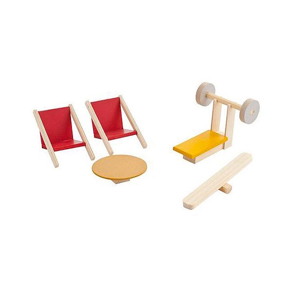 PAREMO Набор мебели для мини-кукол Paremo Спортивный уголок