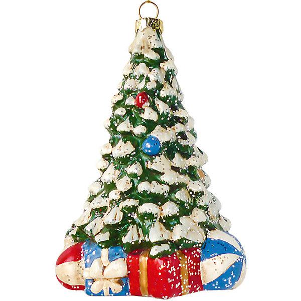 Елочное украшение Новогодняя сказка Новогодняя елочка, 12,5 см фото