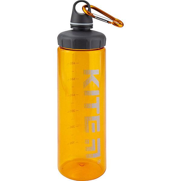 Kite Бутылочка для воды Kite, 750 мл, оранжевая