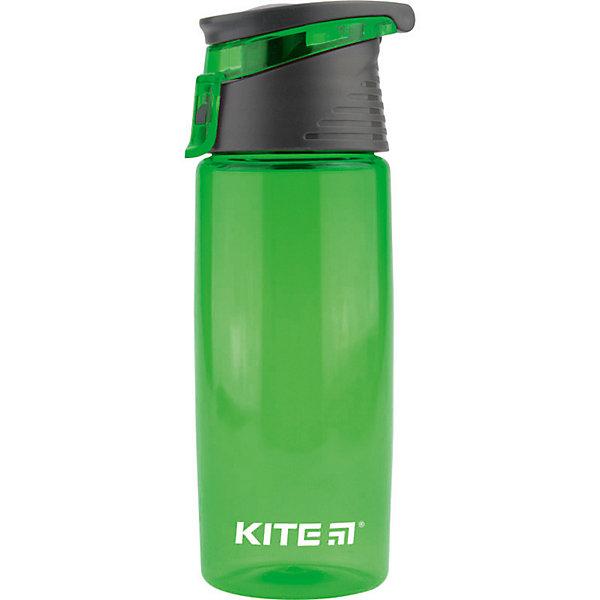Купить Бутылочка для воды Kite, 550 мл, зеленая, Китай, зеленый, Унисекс