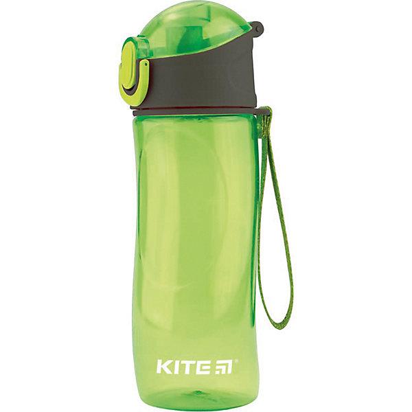 Купить Бутылочка для воды Kite, 530 мл, зеленая, Китай, зеленый, Унисекс