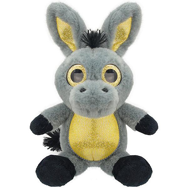 цена на Wild Planet Мягкая игрушка Wild Planet Большой ослик, 25 см