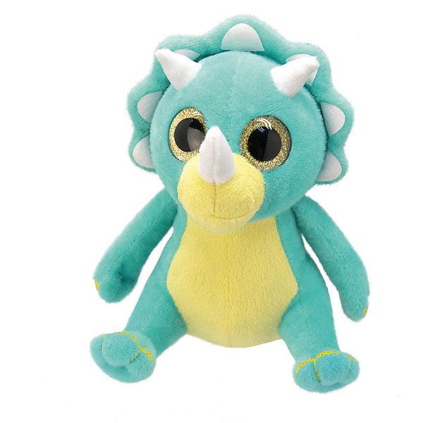 Купить Мягкая игрушка Wild Planet Динозавр-трицераптор, 25 см, Португалия, Унисекс