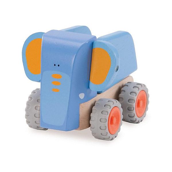 Wonderworld Деревянная игрушка Самосвал-Слоненок Miniworld