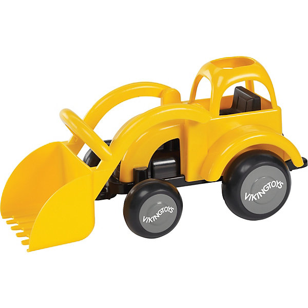 Viking Toys Трактор Viking Toys с ковшом viking toys игрушка каталка панда