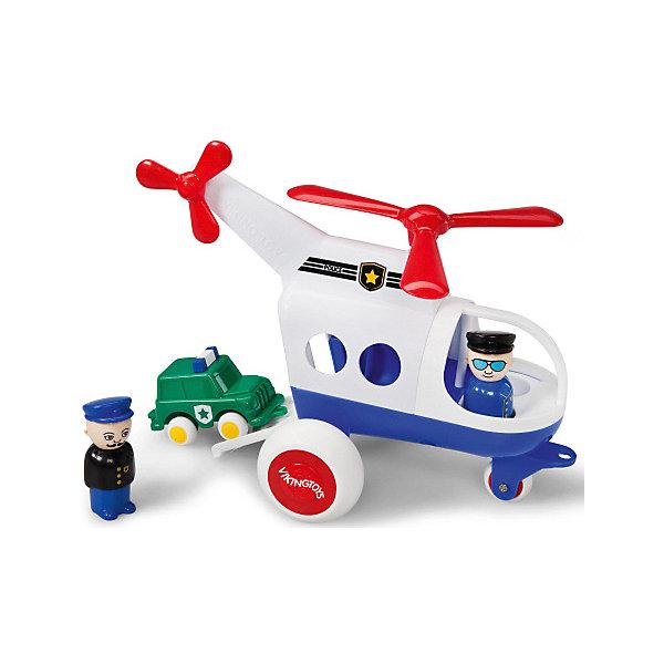 Viking Toys Игровой набор Viking Toys Полицейский вертолет с фигурками цена 2017