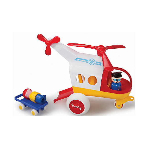 Viking Toys Игровой набор Viking Toys Медицинский вертолет с фигурками цена 2017