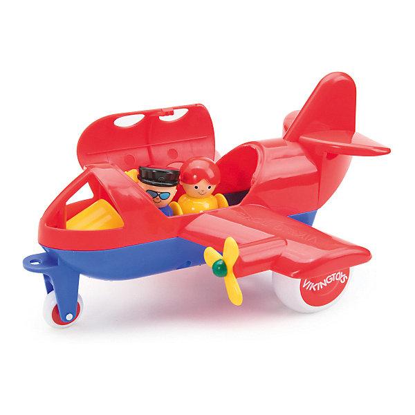 цена на Viking Toys Игровой набор Viking Toys Самолет Jumbo с 2 фигурками