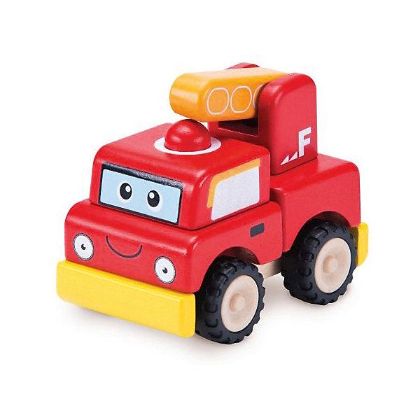 Wonderworld Игрушка-конструктор Пожарная машина Miniworld