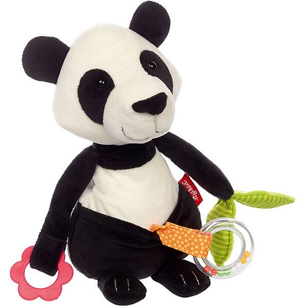 Sigikid Развивающая игрушка Sigikid, Панда, коллекция Активный Малыш (Activity panda), 30 см
