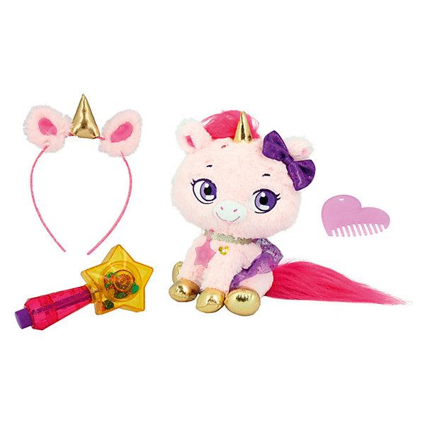 Shimmer Stars Плюшевый единорог SHIMMER STARS, 20см, 1/4 shimmer stars мягкая игрушка shimmer stars плюшевый котенок 20 см