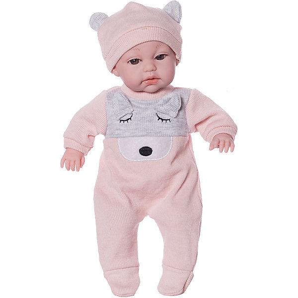 Junfa Toys Пупс Junfa в костюмчике и шапочке junfa toys одежда для кукол белое платье junfa