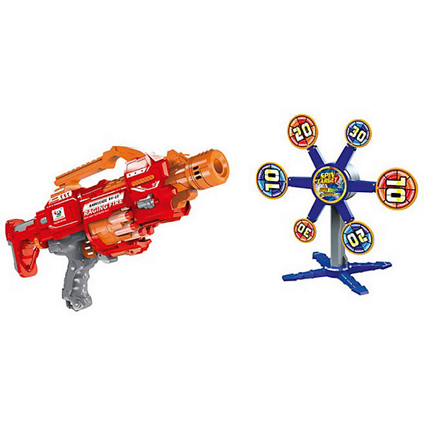 Junfa Toys Бластер с мишенями, 20 снарядов