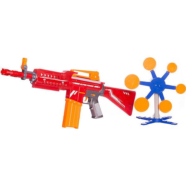 Junfa Toys Автомат с мягкими снарядами, 20 снарядов
