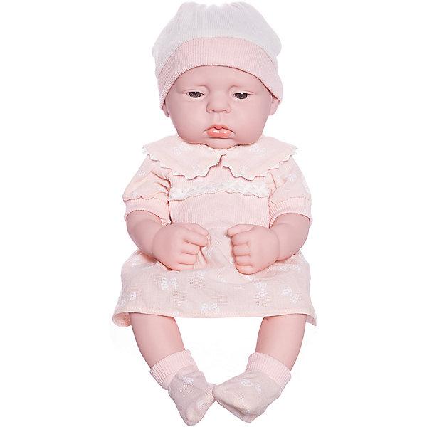 Junfa Toys Пупс Junfa в платье, с аксессуарами junfa toys одежда для кукол белое платье junfa