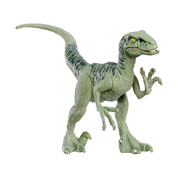 Купить Фигурка динозавра Jurassic World Атакующая стая , Велоцираптор Чарли, Mattel, Китай, разноцветный, Унисекс