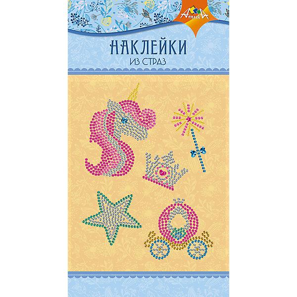 АппликА Набор для творчества Апплика Декоративные наклейки из страз Единорог