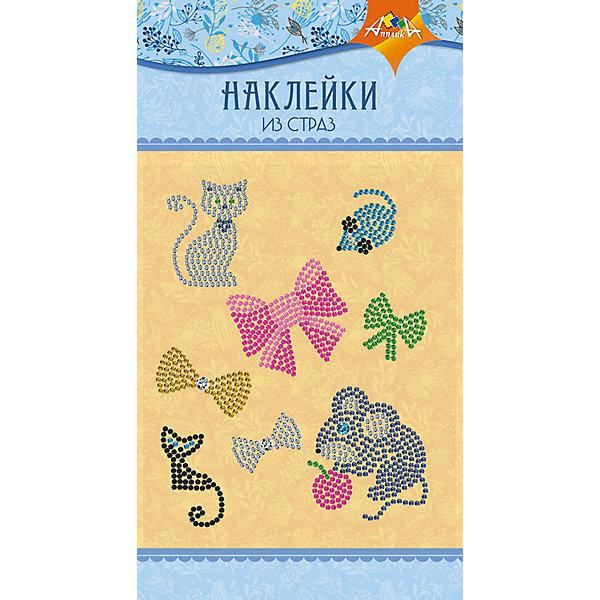 АппликА Набор для творчества Апплика Декоративные наклейки из страз Кошки-мышки апплика набор для творчества апплика декоративные наклейки из страз beauty
