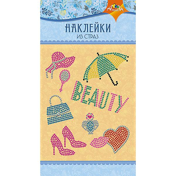 АппликА Набор для творчества Апплика Декоративные наклейки из страз Beauty апплика набор для творчества апплика декоративные наклейки из страз beauty