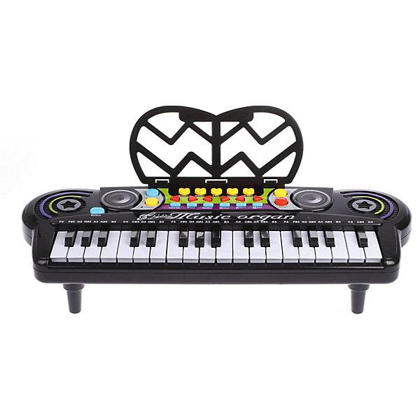 Купить Электронный синтезатор Наша Игрушка Magic Piano, 34 клавиши, Китай, разноцветный, Унисекс