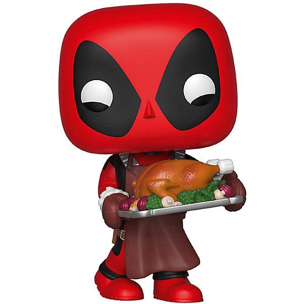 Funko Фигурка Funko POP! Bobble: Marvel Праздничный Дэдпул, 43337 фигурка funko pop south park – stan 9 5 см