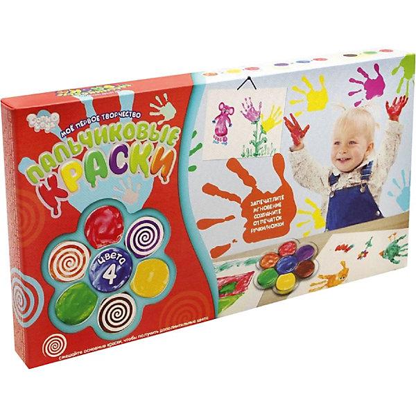 Danko Toys Набор для творчества Пальчиковые краски Моё первое творчество