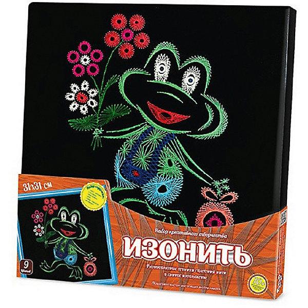 Купить Набор для творчества Danko Toys Вышивка изонитью Лягушонок, Украина, Женский