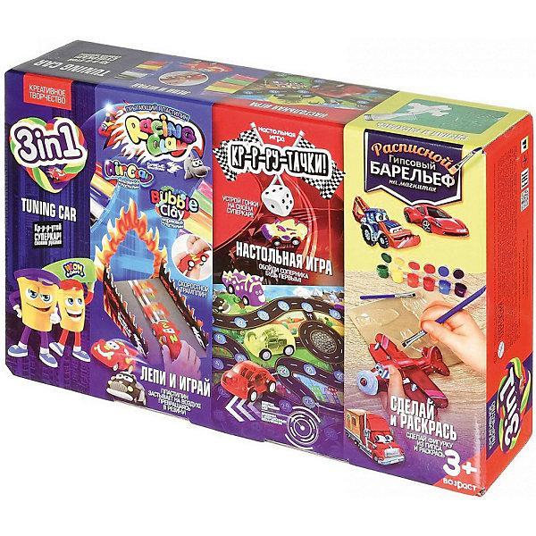 Набор для творчества Danko Toys 3 в 1 Лепи и играй, № 1