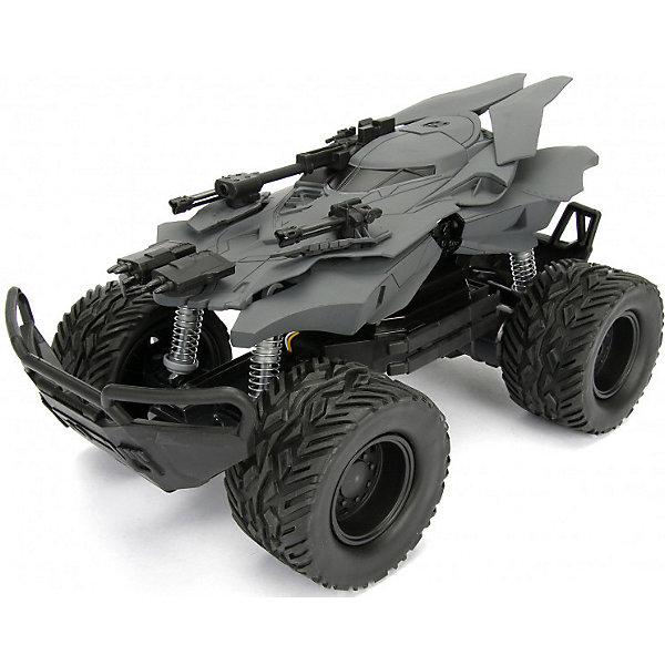 Купить Радиоуправляемая машинка Jada Toys Justice League Batmobile, JT Raptor Chassis 1:12, Китай, разноцветный, Унисекс